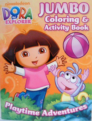 DORA the EXPLORER COLORING & ACTIVITY BOOK