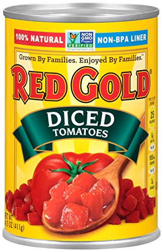 Red Gold Diced Tomatoes, 14.5oz Can (Pack of ()