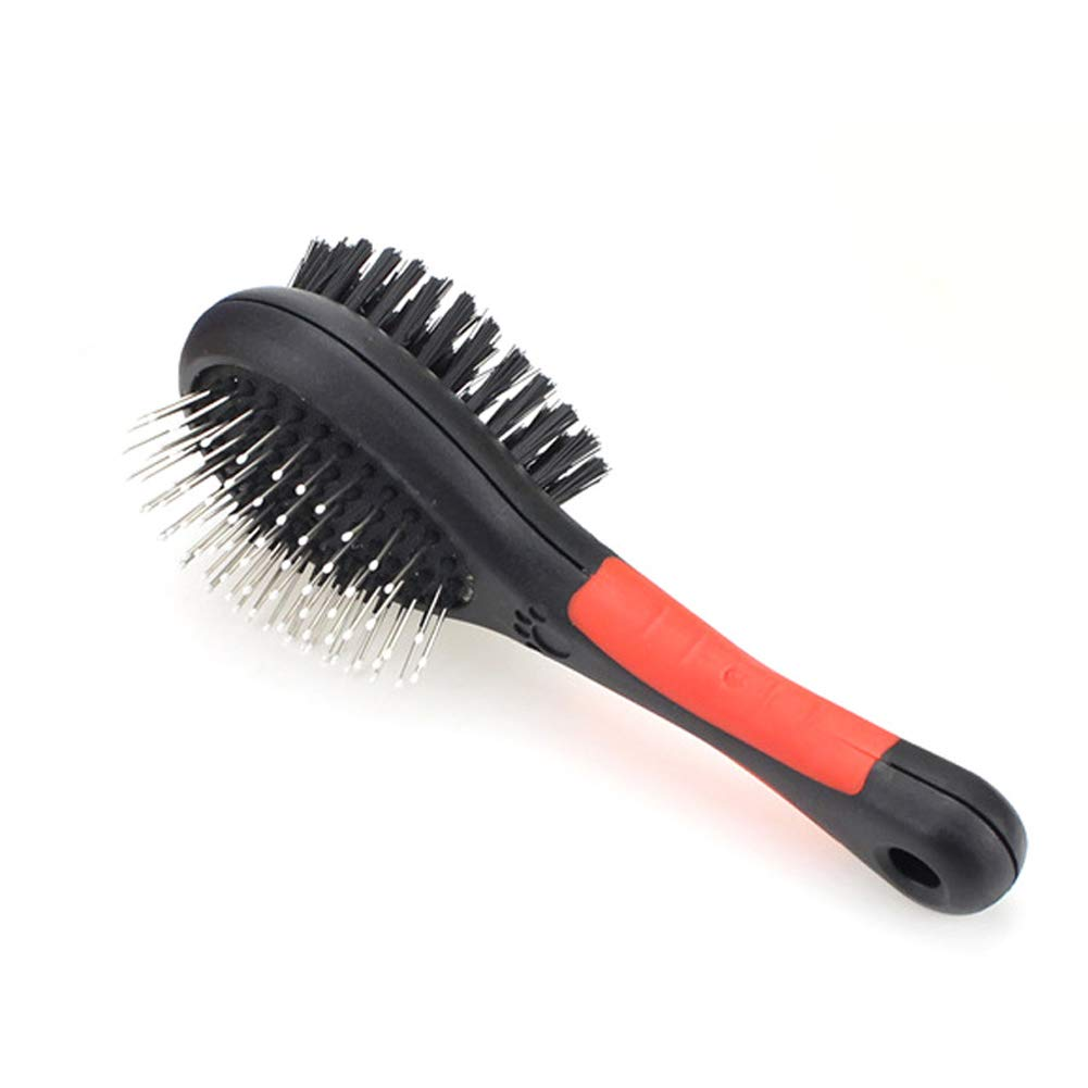 WJHA Double Layer Upgraded Pet Grooming Brush, Deshedding Brush, Effectively Reduces Shedding by Up to 95% Professional Deshedding Tool for Dogs and Cats