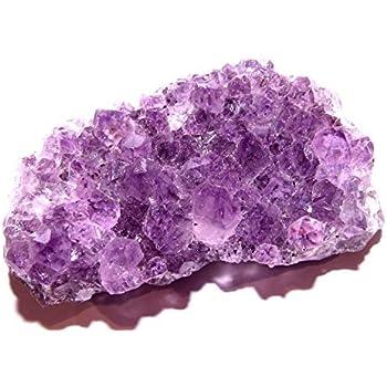 1 NATURAL SPECIMEN - Group 1 Geode Crystal Cluster w//Card AMETHYST DRUZE