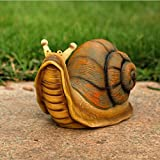 Cheap Anna Garden Decor 26 x 12 x 15 CM Resin Emulation Snail Home Outdoor Garden Decor