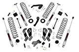 4 lift kit for jeep jk - Rough Country - 69430 - 3.5in Lift Kit (Contrl Arm Drop) for 07-18 Jeep Wrangler Unlimited JK