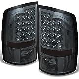 Smoke 07-08 Dodge Ram 1500 07-09 Ram 2500 3500 Pickup Truck LED Tail Lights Brake Lamp Replacement