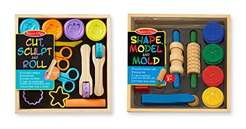 melissa-doug-clay-play-activity-set-with-sculpting-tools-and-8-tubs-of-modeling-dough