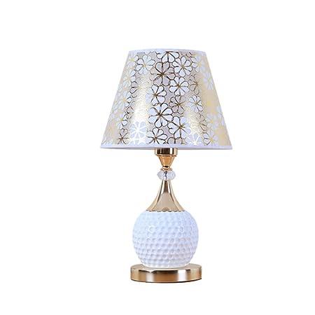 YAONAI Lámpara de Noche para el Dormitorio Lámpara de Mesa Moderna ...