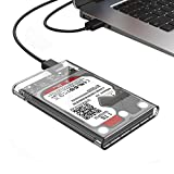 Hongxin Transparent 2.5 Inch USB 3.0 To Sata 3.0 HDD Case Tool Support 2TB UASP Protocol Hard Drive Enclosure Computer Accessories