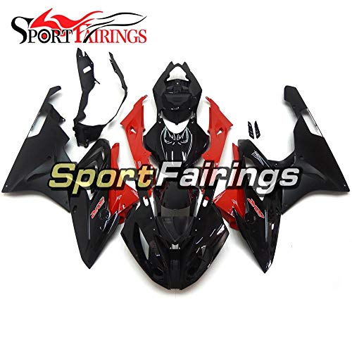 Sportbikefairings Injection ABS Plastics Motorcycle Fairing Kits For BMW S1000RR Year 2015-2016 Fairings Gloss Black Red
