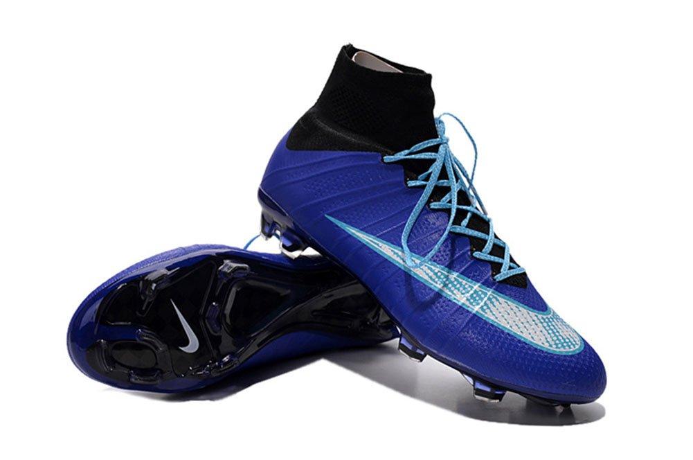 Bruce Schuhe Herren Fußball Fußball Mercurial Superfly FG Royal Blau Stiefel