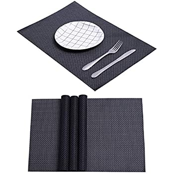 Amazon Com Spring Dining Table Mat Kitchen Woven Plastic