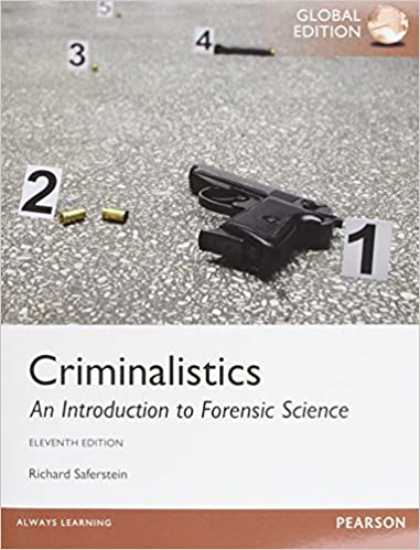 Criminalistics an introduction to forensic science global edition amazon de richard saferstein fremdsprachige bücher