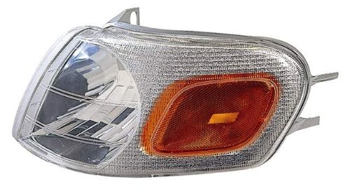 Depo 332-1561L-UF Chevrolet/Oldsmobile/Pontiac Driver Side Replacement Parking/Signal Light Unit (NSF Certified)