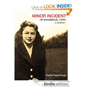 Minor Incident Elaine Todd Koren