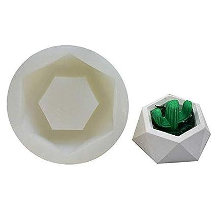 Ritte Molde De Silicona, 3D Planta Silicona Molde, Arcilla De Cerámica, para Hacer