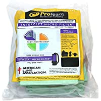 ProTeam Backpack Genuine Micro Filter Paper Bags 10 PK # 100431