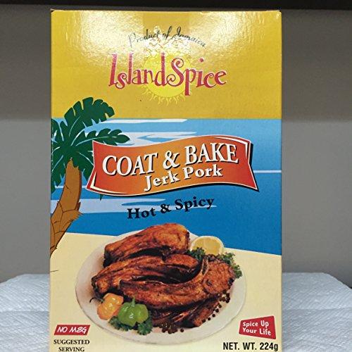 Garlic Pork Tenderloin (Coat & Bake Jerk Pork)