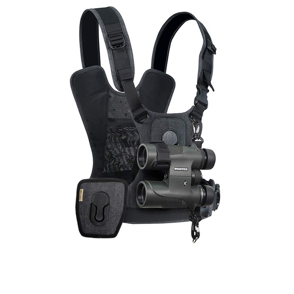 Cotton Carrier CCS G3 Camera and Binocular Harness - Grey
