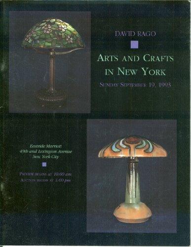 Arts and Crafts in New York: Sunday, September 19, 1993, Eastside Marriott, New York City