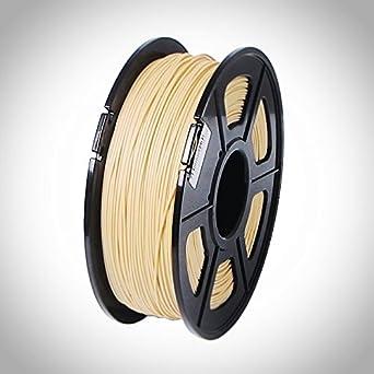 WOOD Filamento 3D de Madera, 1.75MM, 1 kg, impresora 3D (FDM ...