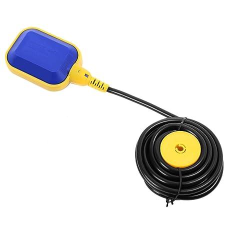 250 V interruptor de flotador Control automático con 10 m cable PVC para bomba de agua