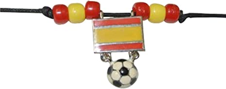 Espana España balón de fútbol Gargantilla: Amazon.es: Deportes y ...