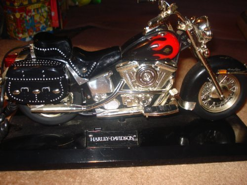Telemania Harley Davidson Phone (Red II) (2 Piece Corded Telephone)