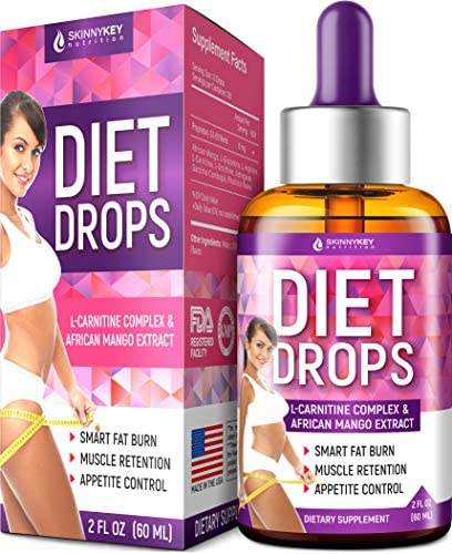 Diet Drops L Carnitine Suppressant L Glutamine product image
