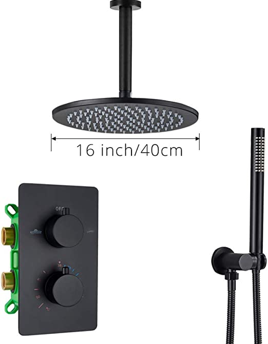 FMXKSW Set de Ducha Grifo de Ducha termostático Baño montado en el ...