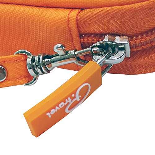 P.travel Passport wallet Oxford Orange with RFID Stop by P.travel (Image #5)