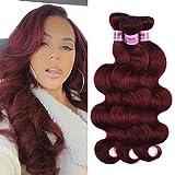 Top Hair Peruvian Virgin Human Hair Extension #33 Body Wave Peruvian Hair 3 Bundle Body Wave length 10-24inch 100g/Bundle (20'' 22'' 24'')
