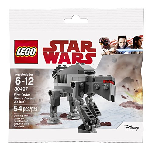 Lego Star Wars  The Last Jedi First Order Heavy Assault Walker  30497  Bagged