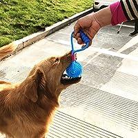 Pelota interactiva de juguete para perros con cordón elástico ...