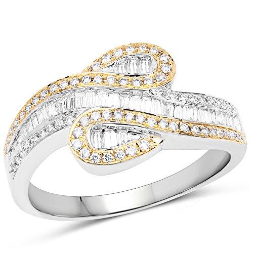 0.45 Ct Genuine Diamonds - 1