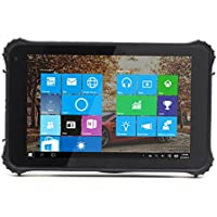 Kcosit Windows 10 PC 8 1280x720 Rugged tablet PC ip65 waterproof phone 2G RAM/32GB ROM Built-in u-blox GPS / Ultra Tough Anti-scratch Panel, For Field Work & Outdoors Use (Black)