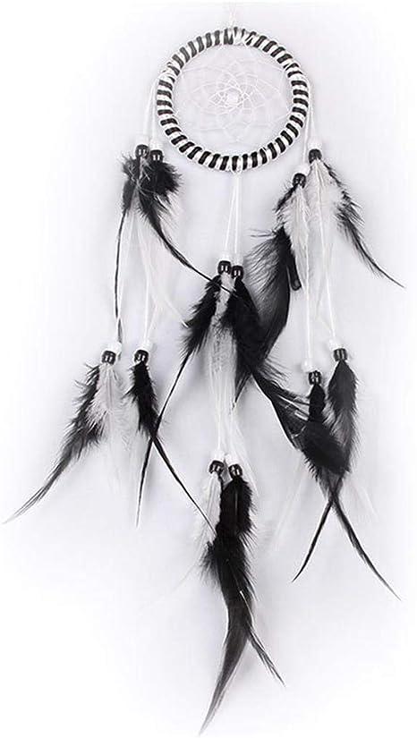 Acchiappa sogni grande dreamcatcher bianco GOOD DREAM diametro dellanello 20 cm lunghezza totale circa 50 cm Acchiappasogni e giochi da appendere fatto a mano