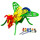 how many bees d - BEE Jigsaw Puzzle for Kids, Adult Puzzles, DIY Model Kids Paint Toy, Children's Gift, Brain Teaser, Wooden Puzzle.