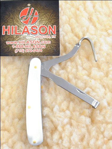 Hilason Western Horse Tack Folding Hoof Pick And Knife 2 In One