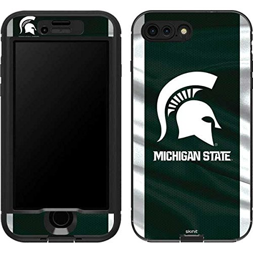 Michigan State University LifeProof Nuud iPhone 7 Plus Skin - Michigan State University Away Grey Jersey Vinyl Decal Skin For Your Nuud iPhone 7 Plus -