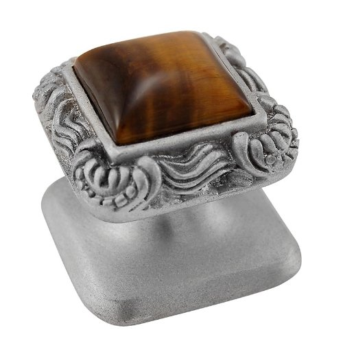 Vicenza Designs K1152 Tiger's Eye Gioiello Square Stone I...