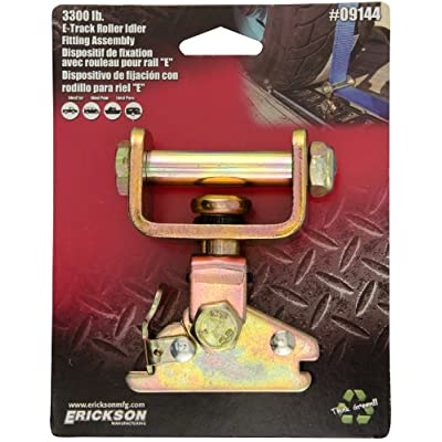 Erickson 09144 E-Track Roller Idler Fitting Assembly - 3300 lb. Load Capacity: Automotive