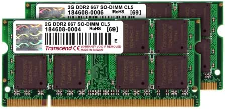 PC2-5300 DDR2-667 4GB 2x2GB RAM Memory Upgrade Kit for the Acer ...