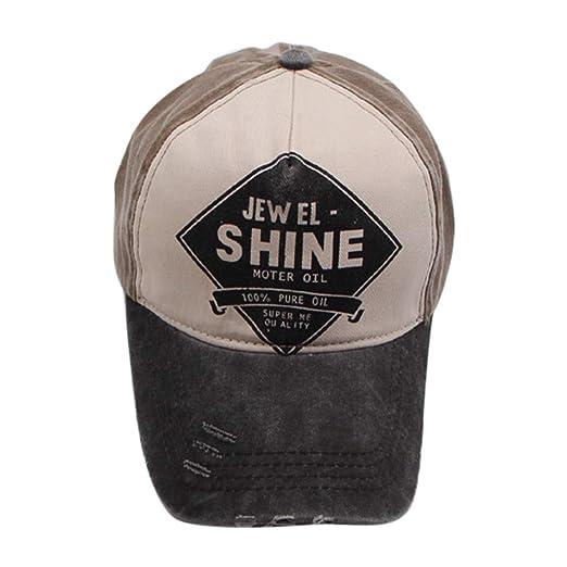 43b5823c Baseball Hat Retro Shabby Hip-hop Cap- Fashion Unisex Sun Hat Men Women  Stitching