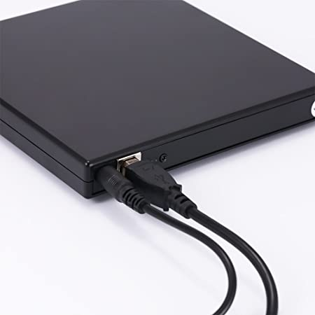 KKJACK USB 2.0 External CD//DVD Drive for Compaq presario cq60-216tu