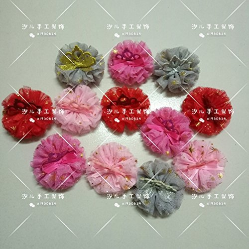 Handmade children's hair accessories hairpin wholesale Crown Princess Fan for women girl lady ()