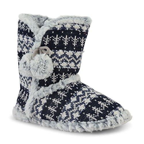 Dunlop - Zapatillas de estar por casa para mujer Dorado Oro (oro) TmWklIGAE