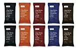 RxBar Real Food Protein Bars Variety Pack, 5 Flavors (Pack of 10)