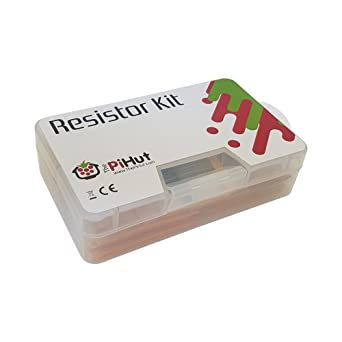 The Pi Hut - Kit de resistencias para Raspberry Pi, Arduino etc ...