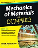 img - for Mechanics of Materials For Dummies book / textbook / text book