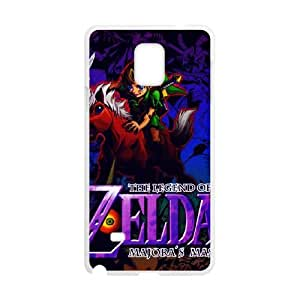 Samsung Galaxy Note 4 Cell Phone Case White The Legend of Zelda Majora's Mask 015 GY9199217