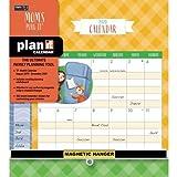 Wells Street by LANG WSBL Mom's 2020 Plan-It Plus (20997009167) Academic Wall Calendar (20997009167)