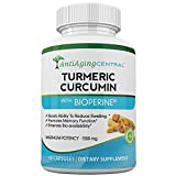 Turmeric Curcumin with Bioperine - Max Potency 95% Curcuminoids. Anti-Inflammatory Pain Relief Pills